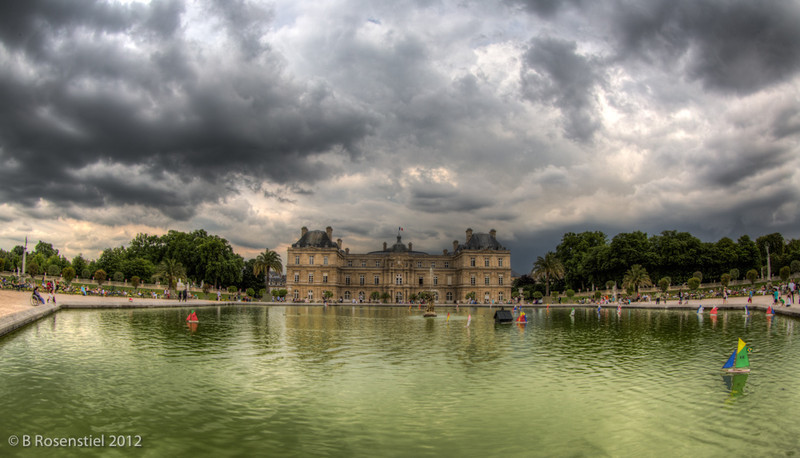 Luxemburg Gardens, Paris, France, July, 2012